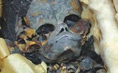 Momia extraterrestre encontrada en pirámide egipcia Extraterrestrelahun
