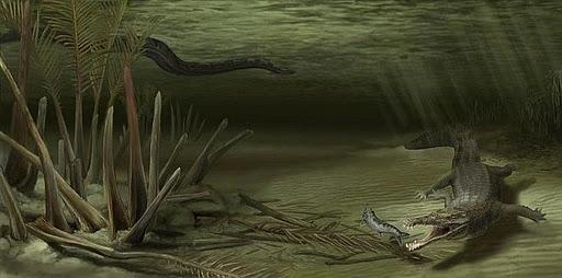historia serpiente gigante: