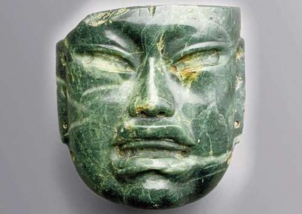 Mayas Mascaras de Jade Máscara de Jade de Origen