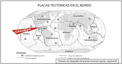 Zonas de riesgo volcnico y ssmico en el mundo y en Mxico